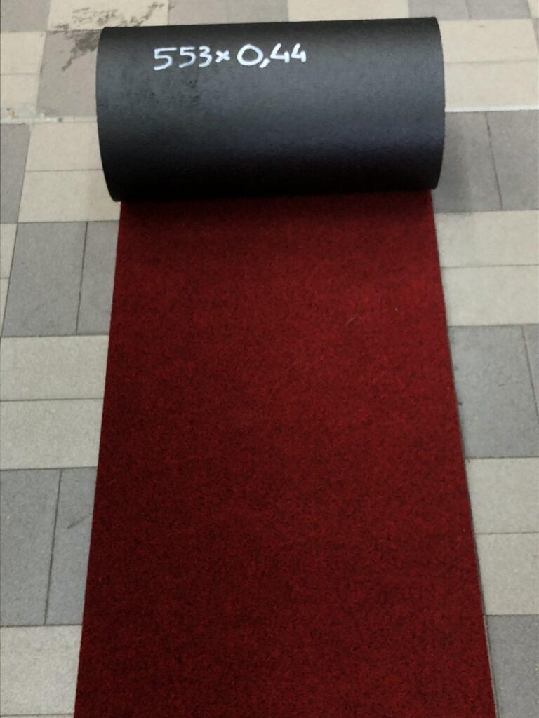 Moquette sintetica rossa