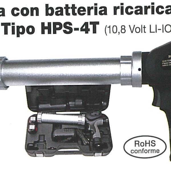 Pistola con batteria
