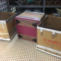 scatole con rotelle